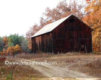 "Barn Photography ""Barn Road"""