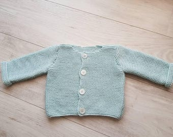 Garter stitch Cardigan
