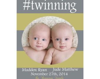 Twinning- Hashtag style