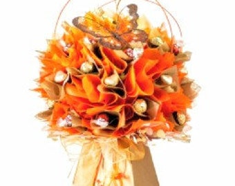 Gold & orange bouquet