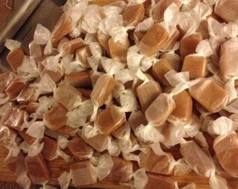 Handmade, small batch, buttery caramels (1 lb.)
