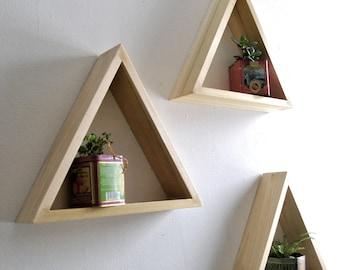 Triangle Shadow Box Set of 3