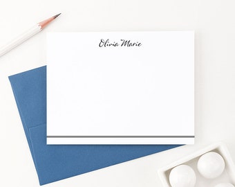 Personalized stationery // Personalized stationary // Thank you note cards // personalized thank you cards // personalized note cards, PS032