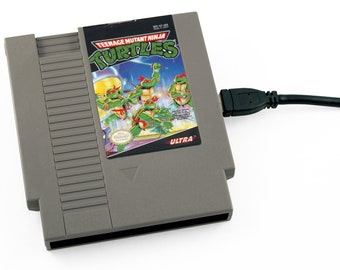 USB 3.0 NES Hard Drive - Teenage Mutant Ninja Turtles