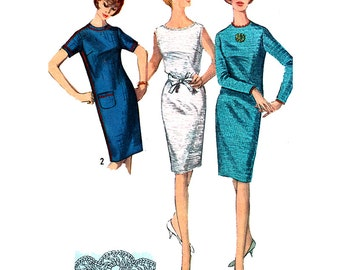 Simplicity Sewing Pattern 6003  Misses' Dress  Size:  14  Used