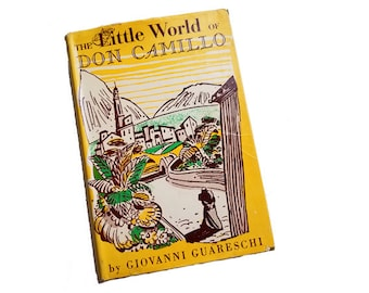 The Little World of Don Camillo - Giovanni Guareschi, life in Italy, Catholic priest, post-WWII life, Communism, humor, small town life