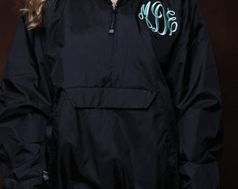 Monogrammed Rain Jacket Personalized Bridesmaids Gifts-Adult Sizes