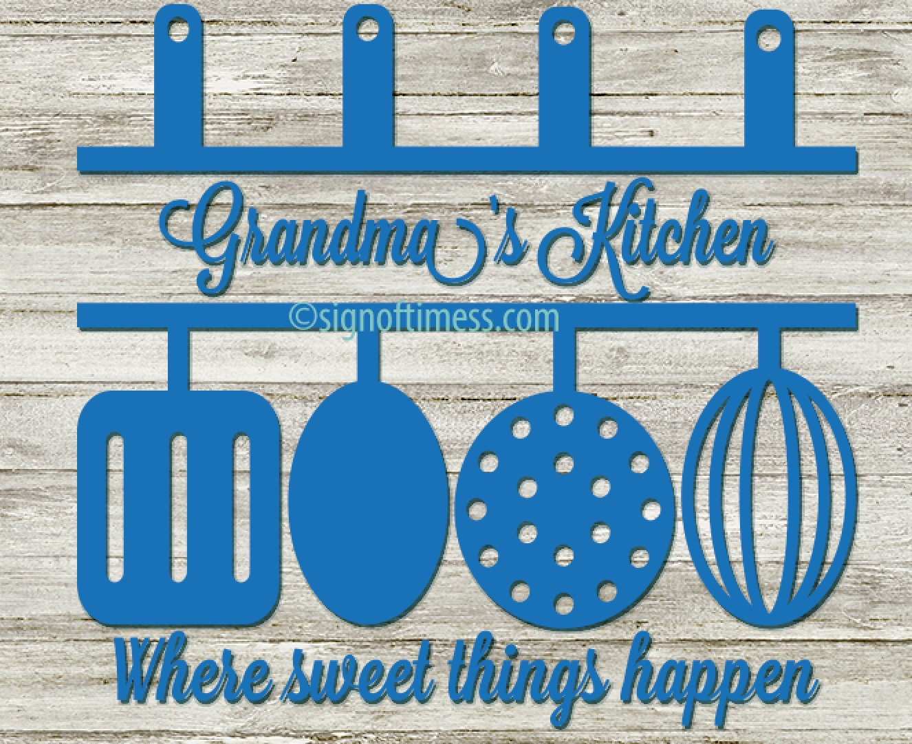 Kitchen SVG Grandma\'s Kitchen Mom\'s Kitchen Mommy