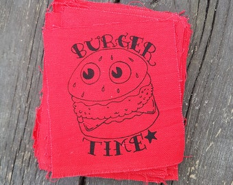 Burger Time Patch