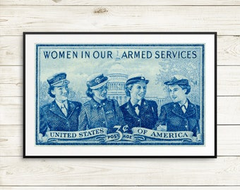 women in the military, military women, women soldiers, armed forces women, armed forces art, feminist posters, feminist art, feminist gifts