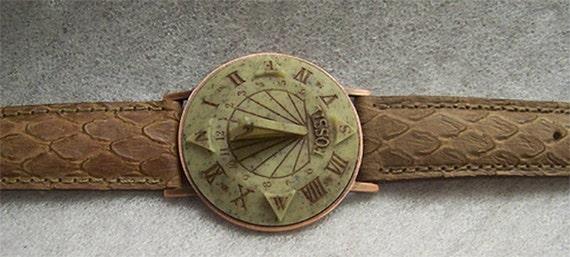 montre cadran solaire