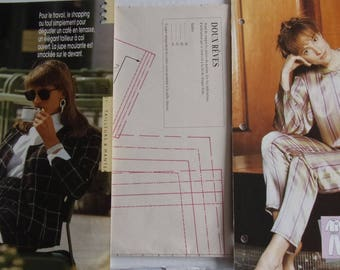 pattern sewing PASSION REF. 21 - suit skirt and jacket and Pajamas Women