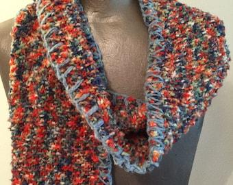 Multi-Color Confetti 100% Bamboo Scarf, Long
