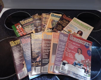 Workbasket Magazines (14) 1981 - 1987