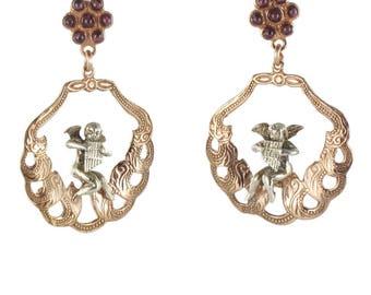 Angels Vermeil romantic earrings