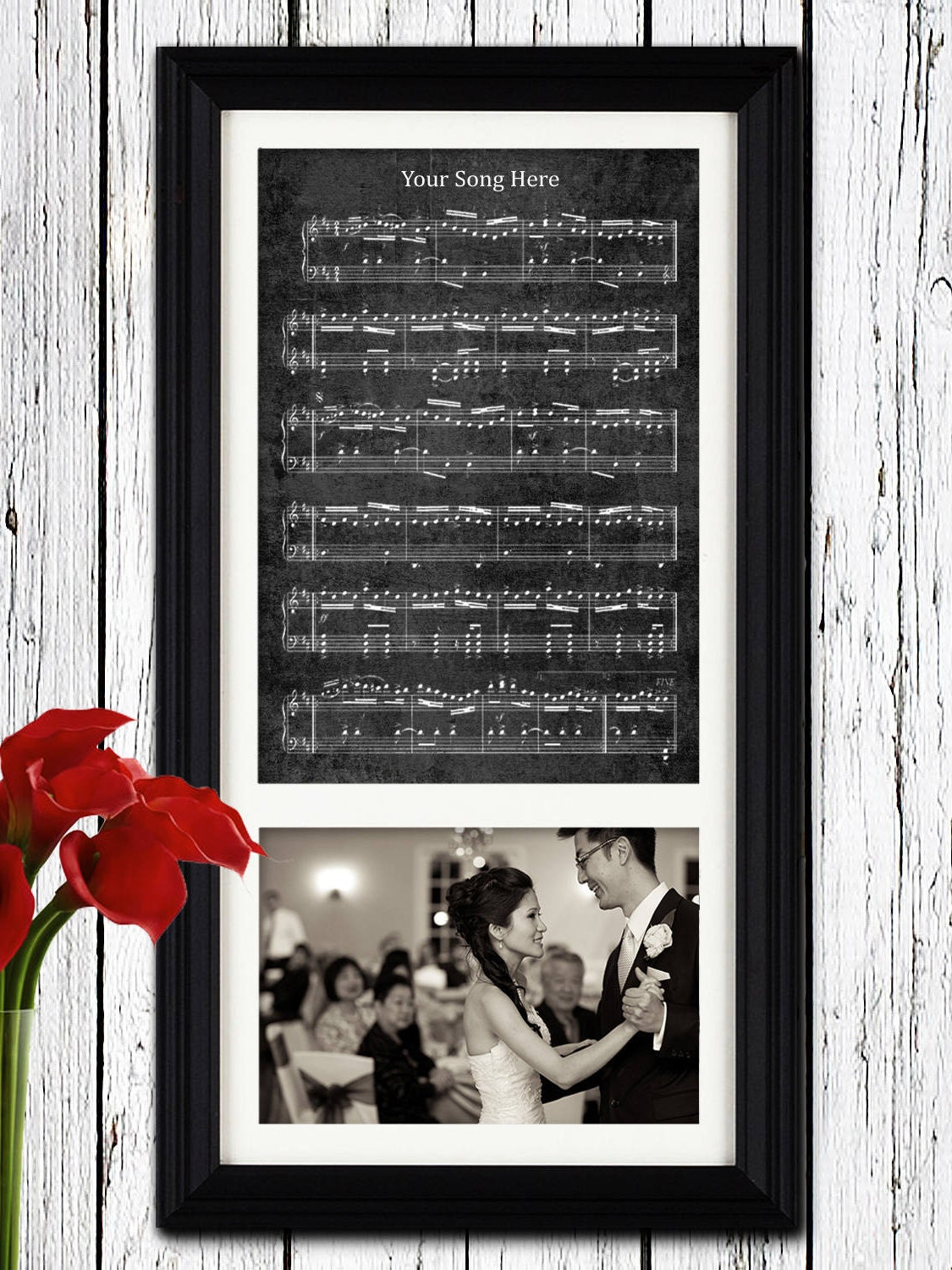 Wedding picture sheet music first dance wedding song first zoom jeuxipadfo Gallery