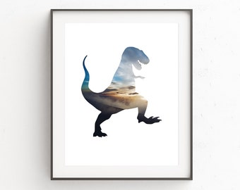 Kids Room Decor, TRex, Dinosaur Wall Art, T-Rex, Playroom Decor, Kids Room Decoration, Dinosaur Decorations, Kids Room Decor DIY, Boys Room