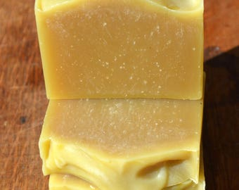 Tea Tree Peppermint  Avocado Shea Shampoo Soap