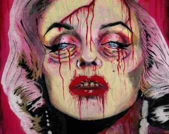 Undead Marilyn Monroe