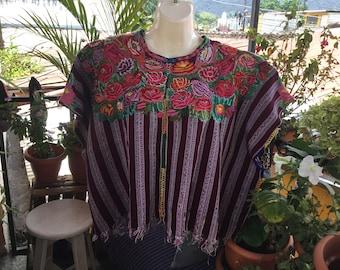 Vintage Guatemalan huipil from Patzun