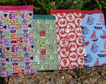 Cute and Novelty Print Apple iPod Sock - Various Sizes for all Models