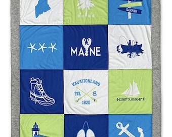 Maine Destination Blanket
