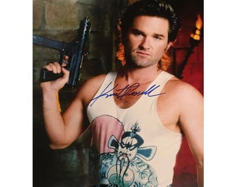 Signed KURT RUSSEL Big Trouble In Little China 8x 10 Glossy Photo