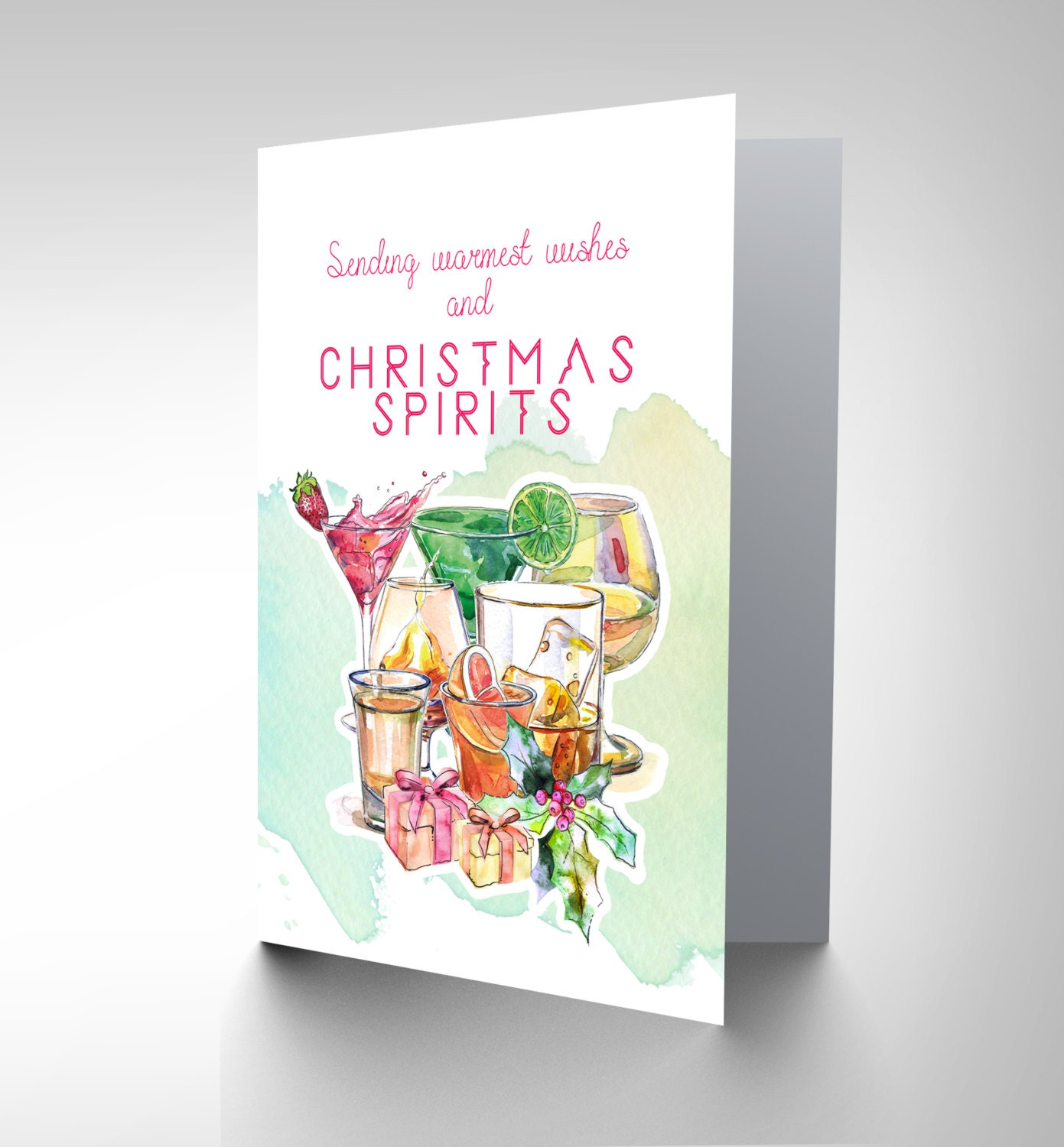 Christmas Spirits / Christmas Card / Warmest Wishes CP3075