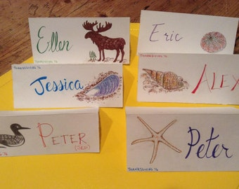 Name Place Cards - Sample