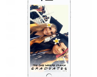 Friends Graduation Snapchat Filter