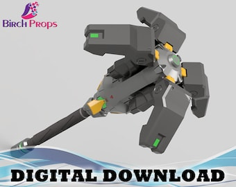 Brigitte Flail Overwatch  - Download Only (STL 3D Files)
