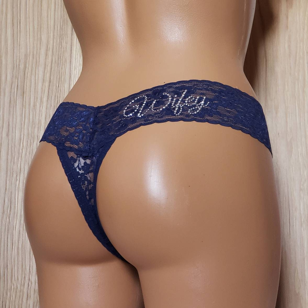 Black Teensexvideo Sexy Navy Blue Thong