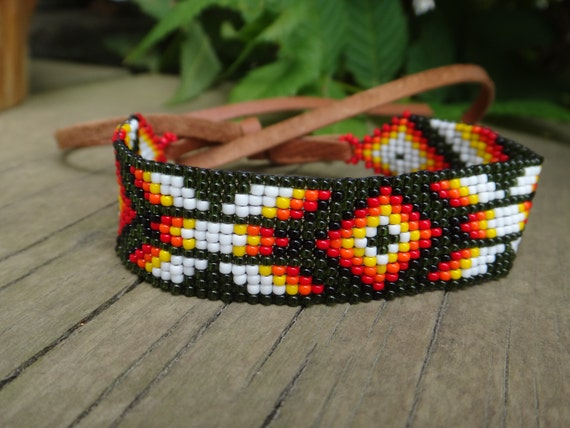 Beaded Bracelet Native American Choker Necklace Armband