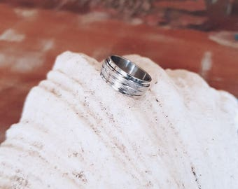 Silver Ring Wide