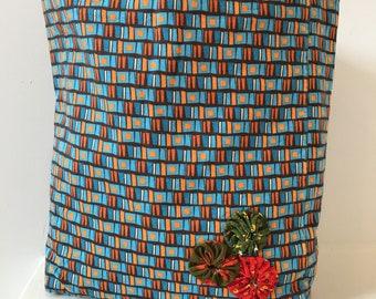 Vintage Fabric Handbag/ Purse/ Tote