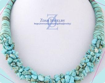 Boho Style Beaded Choker Necklace, Bohemian necklace, Bib Necklace, Bridesmaids Necklace, Fashion Party Necklace
