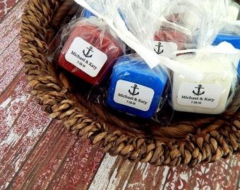 Soap Anchor Wedding Favor Nautical Theme Beach Favor Destination Wedding Fishing Boat Wedding Cruise Wedding Party Favor Personalized Favor