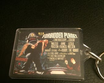 Forbidden Planet Keychain - MGM - Science Fiction - Robby the Robot