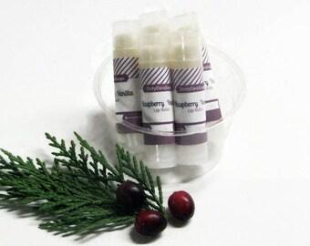 New Black Raspberry Vanilla   Moisturizing Lip Balm with Shea Butter,