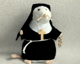 Sister Bernadette Catholic mouse