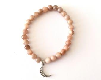 Silvery Moon Bracelet
