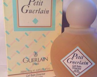 Petit Guerlain Shower Gel With Oatmeal Bath Gel 6.8oz/200 ML For Women