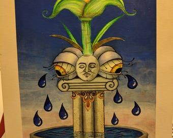 Fountain of maize