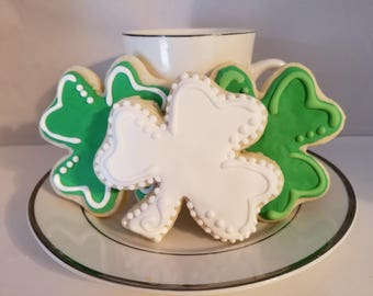 Clover Good Luck Cookies
