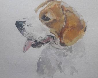 Custom small watercolor format