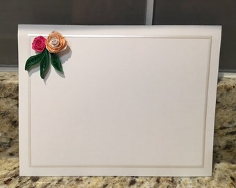 Quilling Roses Card