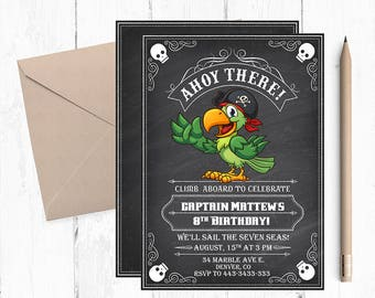 Pirate Birthday Invitations, Pirate invitations, Pirate Invitations, Pirate Birthday Invitation, Pirate Birthday invitation, Pirate Birthday