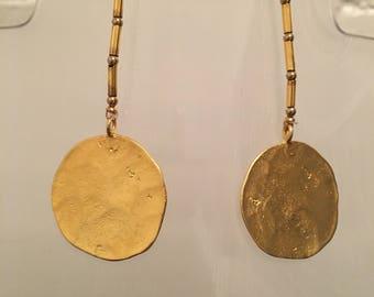 "4"" Earring Gold"