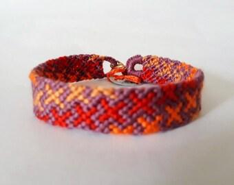 Friendship Bracelet 12 thread DMC - friendship bracelet
