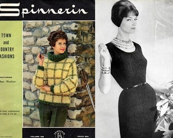 Spinnerin Volume 155 Town & Country Fashions 1962
